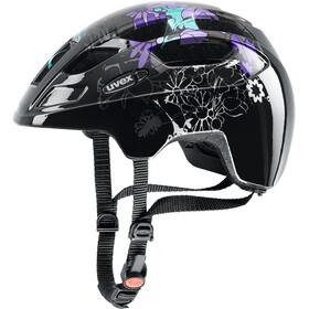 UVEX Finale Junior - Casco de bicicleta Niños - Large violeta/negro
